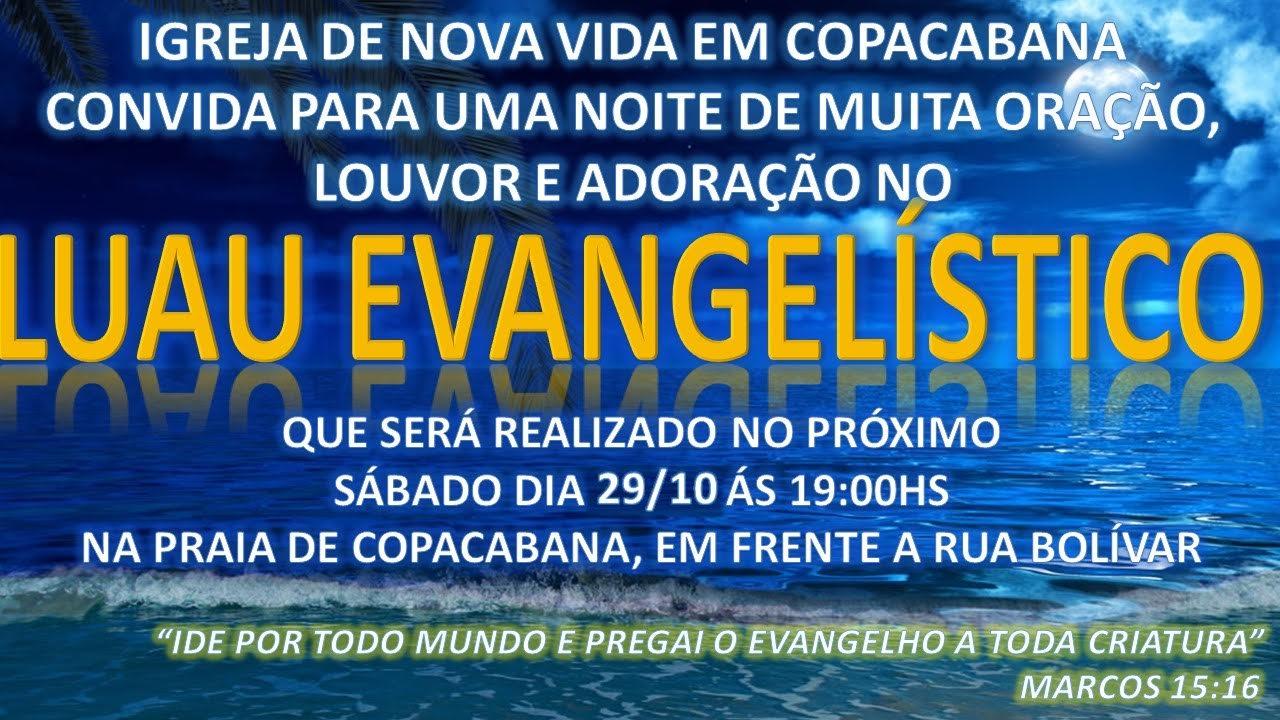 Luau Evangelístico.
